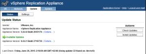 Upgrade vSphere Replication 5.8 - 02