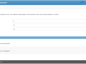 vRealize Orchestrator 7 in cluster mode featured