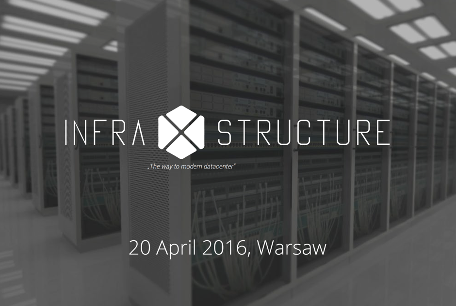 InfraXstructure 2016